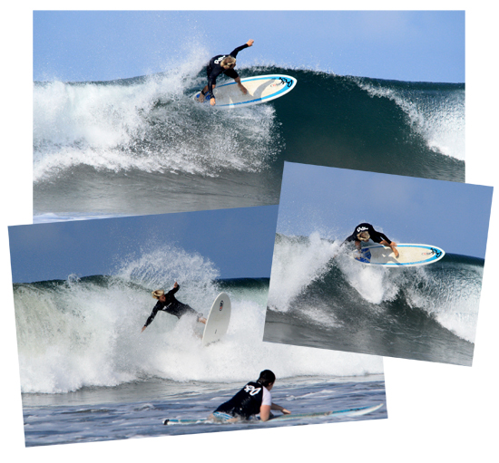 The Best Surfer In The Water Is...