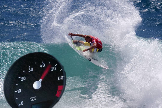 Only a surfer knows the feeling, or maybe should analyse the data.